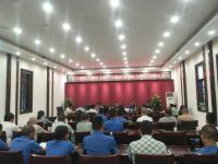 内江市中区召开农贸市场综合整治誓师大会