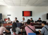 内江市中区市场监管局召开贫困村帮扶单位联席会议